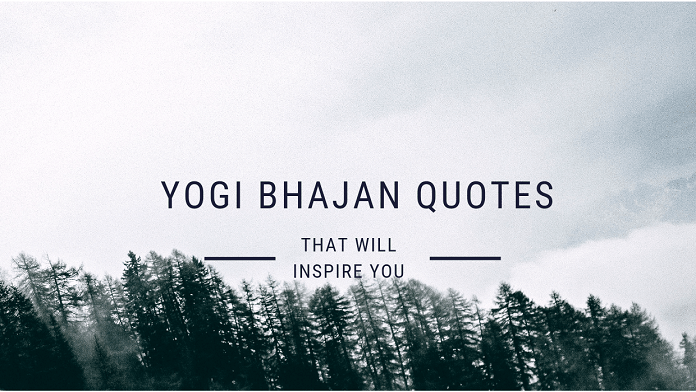 yogi bhajan quotes