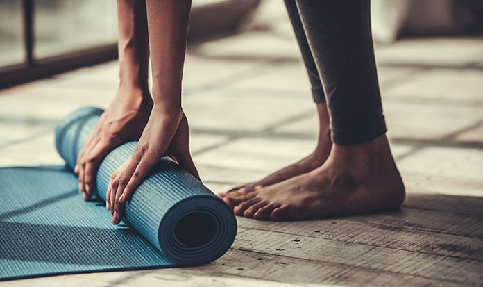 best yoga mat for tall people