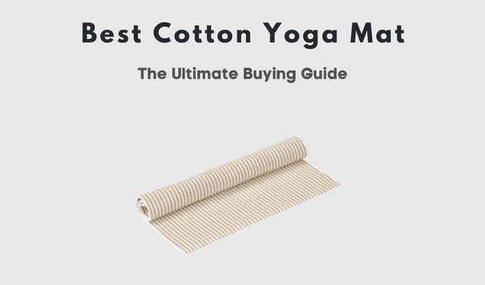 best cotton yoga mat