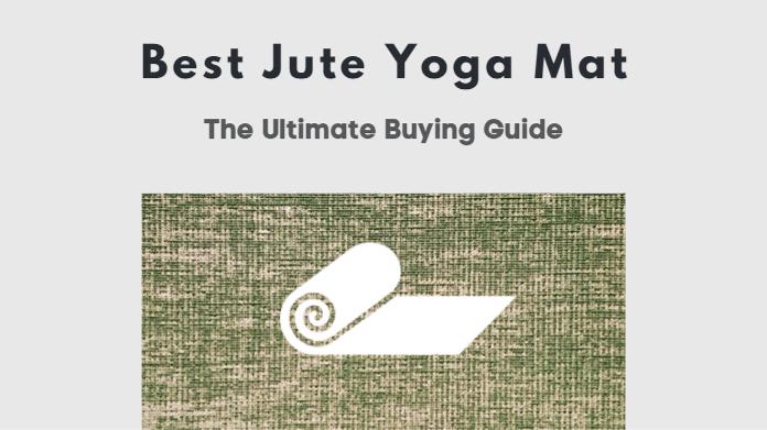 best jute yoga mat