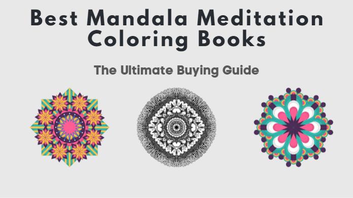Best Mandala Meditation Coloring Book