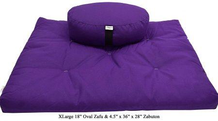 Bean Products Zafu and Zabuton Meditation Cushion Set