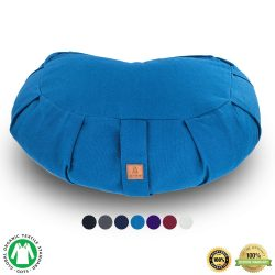 Seat Of Your Soul Buckwheat Hull Filled Yoga Meditation Cushion
