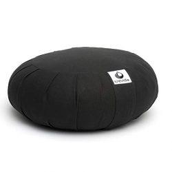 Trevida Organic Zafu Buckwheat Meditation Cushion