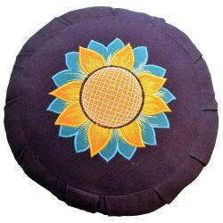 YogaAccessories Round Cotton Zafu Meditation Cushion Pillow