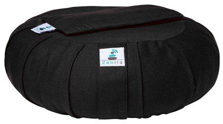 Zentra Yoga Meditation Cushion with BONUS Lavender Scented Eye Pillow2